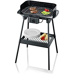 Severin PG 8523 Barbecue-Grill 2300W, Colore: Nero