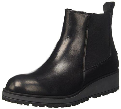 Lumberjack Sw21903-001b01, Chelsea Boots Femme, Noir