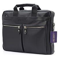 ABESS Evrak Çanta , Kaliteli Kullanışlı Evrak Çantası Laptop Bölmeli (Siyah)
