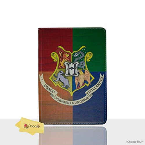 Apple iPad Mini 4 Folio Harry Potter Häuser Hülle / Schützendes PU Leder Smart Flip Hülle / iCHOOSE / - Mini Harry Ipad Potter Case