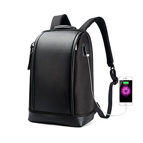 BOPAI Zaino Invisibile Anti furto Zaino Borsa da Viaggio con Porta di Ricarica USB 39,6 cm per Computer Portatile MacBook PRO Zaino Business in