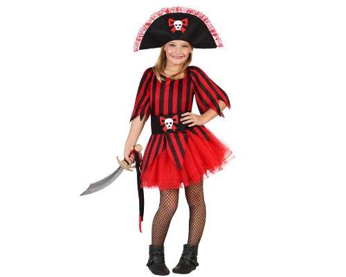 Atosa-23829 Disfraz Pirata 7-9, color rojo, 7 a 9 años (23829)