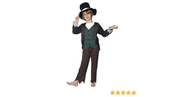 Superior Victorian Fancy Dress Childrens Fancy Dress Oliver Twist Costume Large Age  10 12: Amazon.co.uk: Kitchen U0026 Home