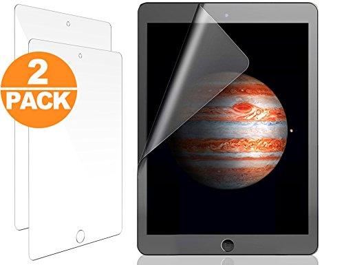 Galleria fotografica Act Pellicola protettiva ultra trasparente per Apple iPad Pro 9.7'' (2 x pellicole protettive) - Salva schermo ad alta definizione (HD) ed anti-riflesso - Garanzia 100% soddisfatti o rimborsati