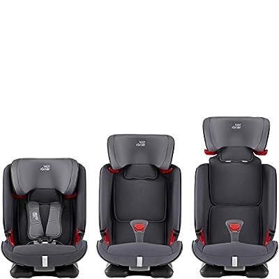 Britax Römer Kindersitz 9-36 kg, ADVANSAFIX Autositz Isofix Gruppe 1/2/3