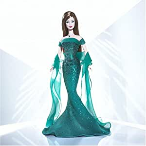 Mattel Barbie B3413 Doll May Emerald Birthstone Collection
