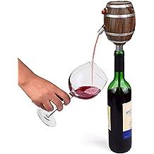 Eléctrico Dispensador Rojo Aireador De Vino decantador bombas funciona con pilas champán espíritu difusor sellador de vino vertedor de botella de cerveza herramienta de bartend spout- Food Grade material, mantenga vino Fresh y deliciosas c