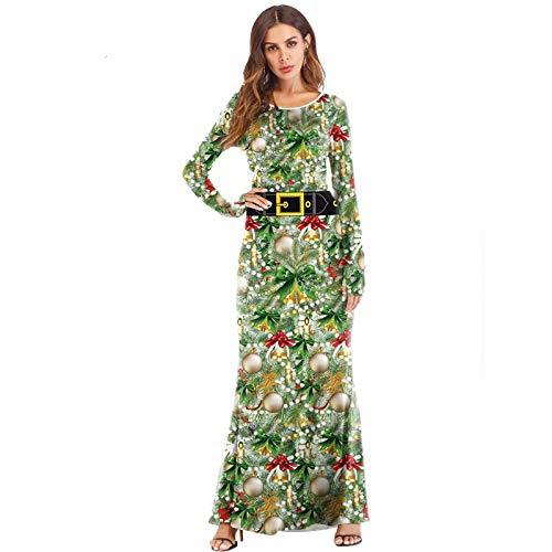 Kleid Kostüm Plus Für Erwachsene - Averyshowya Halloween Kostüm Für Kostüm für Erwachsene Für Frauen Plus Size Kürbis Maxi Kleid Damen Langarm Party Kleider Kleid @ A_S-M