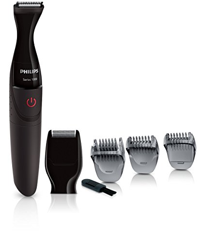 Philips Series 1000 Multigroom (Präzisionstrimmer, Click On Bartstyler) MG1100/16 (Ein Trimmer)
