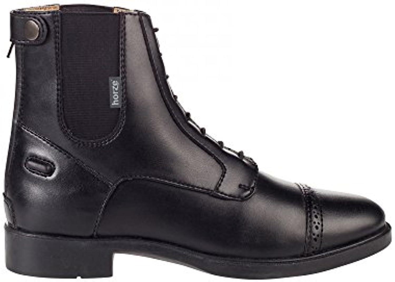 HORZE Kilkenny Jodhpur Boots PU  Zapatos de moda en línea Obtenga el mejor descuento de venta caliente-Descuento más grande