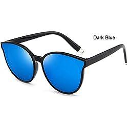 Allright Gelee Mode Sonnenbrille Frauen Sonnenbrille Transparente Rahmen Sonnenbrille Gelee GefäRbt HeißE Sunnies Dunkelblau