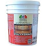 Marbec- « Puli Forno » 1kg   Nettoyant dégraissant fort en gel pour fours de cuisine et barbecue