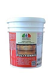 Idea Regalo - Marbec - PULI FORNO 1KG   Pulitore sgrassante forte in gel per forni da cucina e barbecue