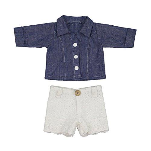 Shirt & Hosen Mit Aufhänger, Puppen Kleidung Anzug Für 18