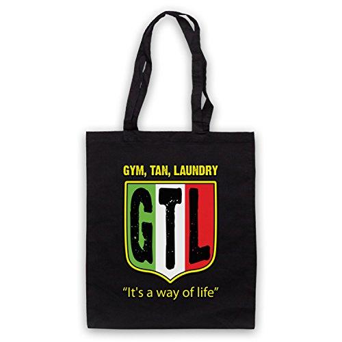 Ispirato Da Jersey Shore Gtl Gym Tan Lavanderia Cappe Ufficiali Non Ufficiali Nero