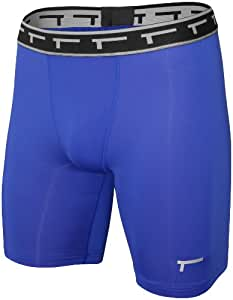 TREN Herren COOL Compression Short Kompressionshose Royalblau 400 - M