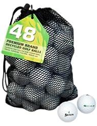 Second Chance Soft Feel 48 Balles de golf recyclées Catégorie A