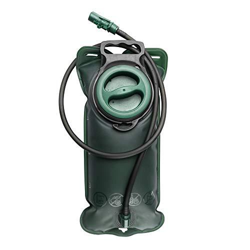 Shanyaid 2019 die qualität Trinkblase 2L mit Beissventil - wasserdichte für den Rucksack zum Wandern, Campen oder Radfahren, Geschmacklos - Trinksystem