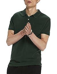 Scotch & Soda Herren Poloshirt Ams Blauw Classic Garment Dyed Polo With Xxx Pocket And Regu