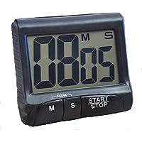 Kongqiabona Küche Kochen Timer Küche Kochen Timer LCD Display Magnetische Digitale Küche Countdown-Timer Küchenhelfer & Kochzubehör Eieruhren