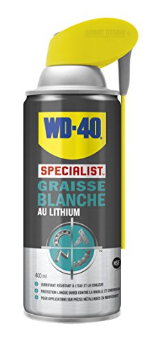 WD-40 Specialist Graisse Blanche Lithium Aérosol Double Position 400 ml