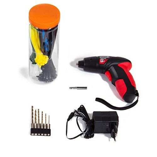 Greencut TOOLS-881 - Set de herramientas (881 piezas), carro con ruedas, taller móvil, herramientas de cromo vanadio