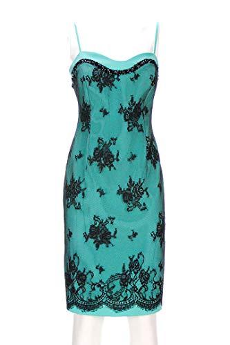 CERIMONIA Vestito Donna Verde Tiffany Pizzo 48