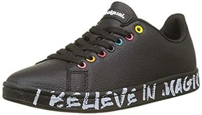 Desigual Shoes_Cosmic Candy, Scarpe da Ginnastica Basse Donna, Nero (Negro 2000), 36 EU