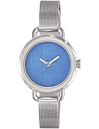 Fastrack Analog Blue Dial Women's Watch -NK6123SM01