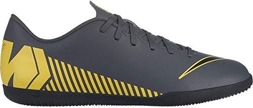 the best attitude 3682f 474f7 Nike Herren MercurialX Vapor XII Club Fußballschuhe Grau (Dark  Grey/Black-Opti Yellow