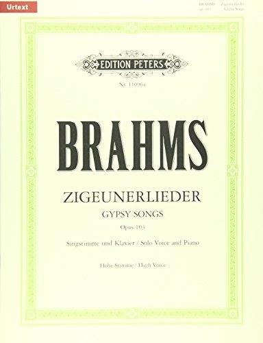 Zigeunerlieder Op.103 Hoog Chant