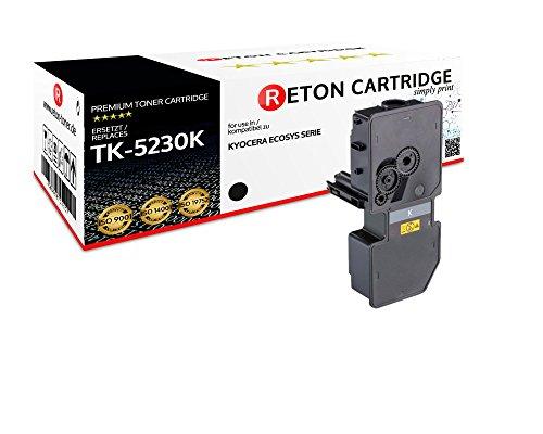 Preisvergleich Produktbild Original Reton Toner | 50% höhere Druckleistung | als Ersatz für Kyocera TK-5230 TK-5230K 1T02R90NL0 Schwarz für Kyocera ECOSYS M5521cdn, M5521cdw, P5021cdn, P5021cdw