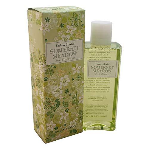 Crabtree & Evelyn Somerset Meadow bath und shower gel, 1er Pack (1 x 200 ml)