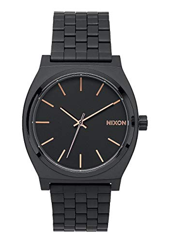 Nixon Time Teller Black (Black Gold Rose)