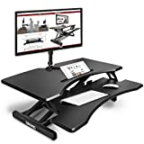 Best Mount-it! All In One Computers - Duronic Standing DM05D17 Sit Stand Desk PC Workstation Review