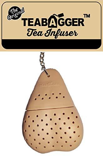 The Teabagger tTea infusión divertido Gag regalo novedad regalos para hombres adultos y mujeres media rellenos (Beige)