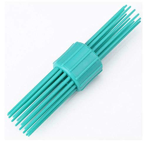 1 STÜCK Frauen Haar Styling Clip Kamm Stick Brötchenhersteller Braid Tool Haarschmuck (Grün, OneSize) - Haare Kämmen-stick