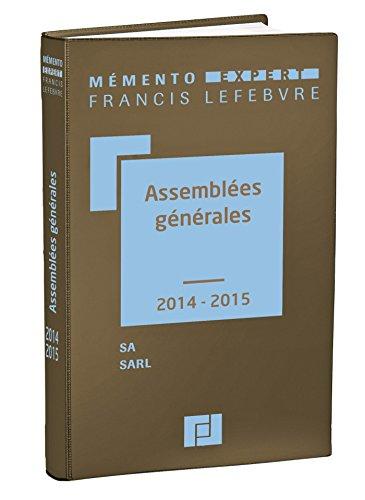 Assemblées générales par Francis Lefebvre