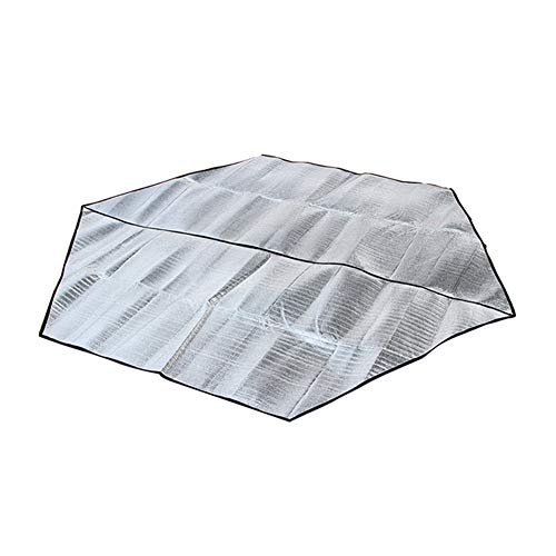 Shopps Alfombrillas Camping Papel Aluminio Doble Cara