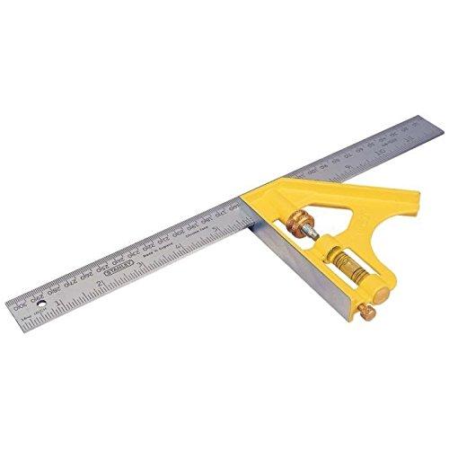 Stanley 2-46-143 Équerre à combinaison Die-Cast multi-usage 300 mm