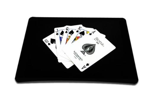 Luxburg® Design XL Gaming alfombrilla de ratón esterilla de ratón, motivo: Baraja francesa