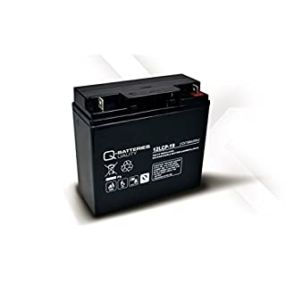 Solarbatterie Akku Quality-Batteries 12LCP-19 / 12V - 19Ah AGM-Deep Cycle