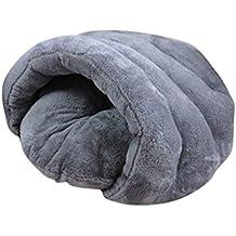 grigio M Xiaoyu inverno caldo e confortevole cane da compagnia caldo puppy cuscino di gatto cuscino met/à sacco a pelo letto coperto