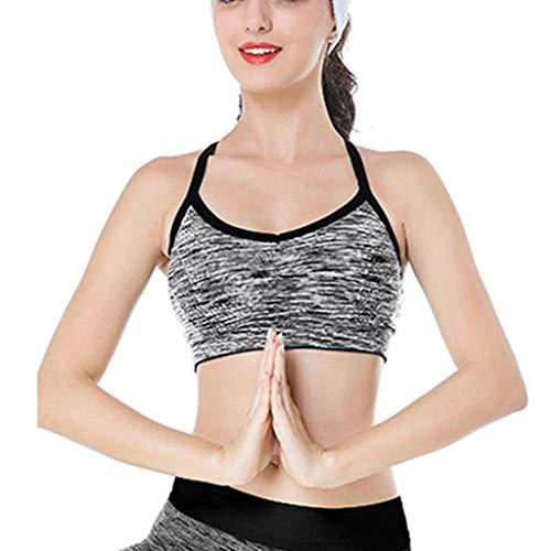 Bfmyxgs Damen Intimates Ärmelloses Yoga BH Frau Sport Tops Sexy Sportsweste Weste