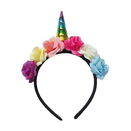 originaltree Prinzessin Einhorn Haarband Haar-Accessoires für Baby Mädchen Kids Party Club Einheitsgröße mehrfarbig
