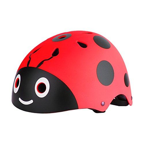 1fefa300dd6 CHICTRY Casco Bicicleta Infantil Ciclismo Casco de Seguridad para Niños  Ajustable Casco de Animal Unisex Protección Patines Niños [OFERTAS]