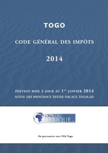 Togo - Code General des Impots 2014