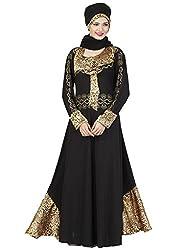 AASRI Women EID Islamic Muslim Fashion Jilbab Lycra Stitched Abaya Burka