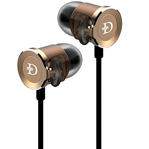 Dunu DN-2000 Audiophile Dynamic Balanced Armature Hybrid IEM Earphones with