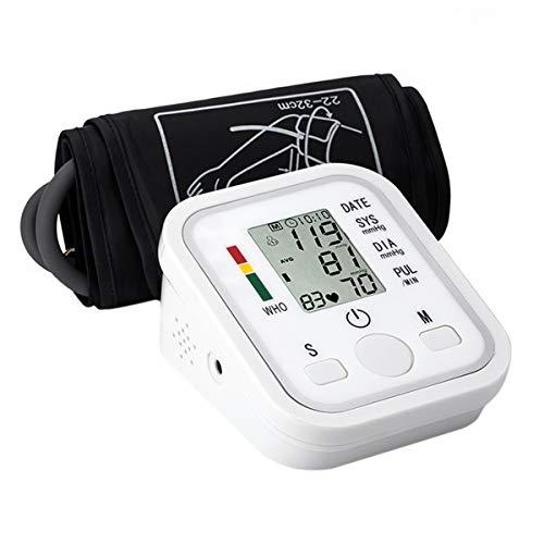 AidmonR Home Tragbare Oberarm Typ Blutdruckmessgerät, Intelligente Automatische Stimme Elektronische Blutdruckmessgeräte für Gesundheitsüberwachung